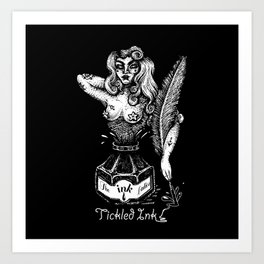 Tickled Ink Art Print