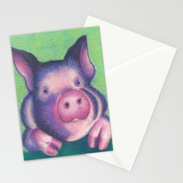 Harold the pig Stationery Cards