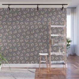 Iridescent Ammonites - Fossil Pattern Wall Mural
