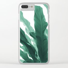 Banana Leaves Jungle #5 #tropical #decor #art #society6 Clear iPhone Case