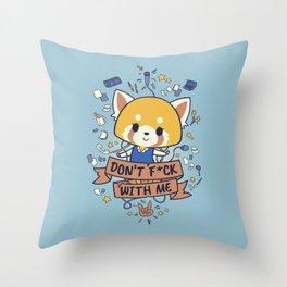 Little But Tough Throw Pillow
