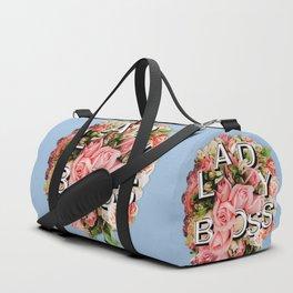 Lady Boss Floral Bouquet Duffle Bag