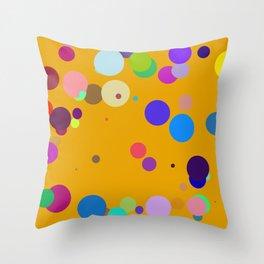 Circles #5 - 03102017 Throw Pillow