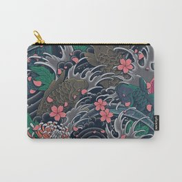 Blossom Blizzard Carry-All Pouch