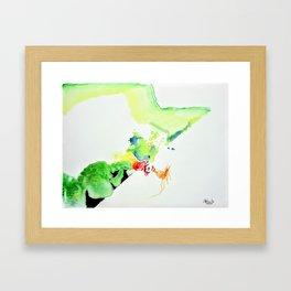 Chicken Thought Framed Art Print