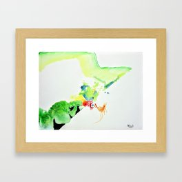 Chicken Thought Framed Art Print