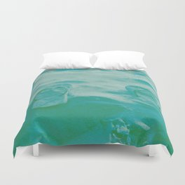 Thongs in the sand photo Duvet Cover