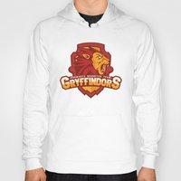 quidditch Hoodies featuring Hogwarts Quidditch Teams - Gryffindor by Deadround