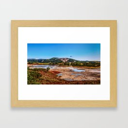 Bear Resort: Caldera Uzon Framed Art Print