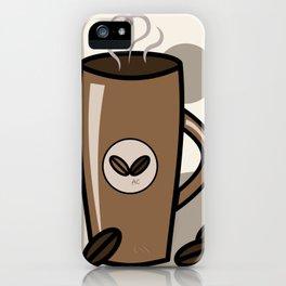 Latte Mug Design iPhone Case