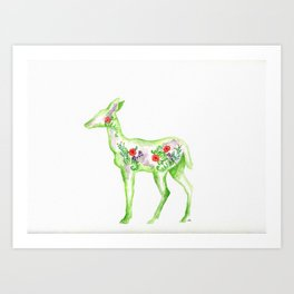 Garden Doe Art Print