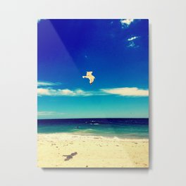 Lonesome Seagul Metal Print