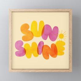 Sunshine Framed Mini Art Print