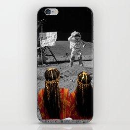 Rgaya and Sabeecha go to the moon iPhone Skin