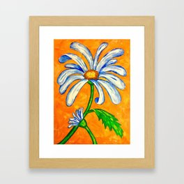 Summer Daisy Framed Art Print