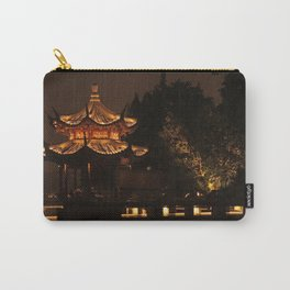 Chinese Pagoda on Lake Carry-All Pouch