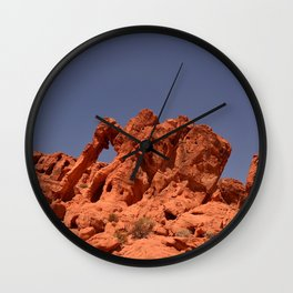 Elephant Rock, Valley of Fire Wall Clock