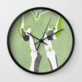 Wild Tiger Wall Clock