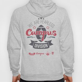 The emblem of rugby campus team in retro style Hoody