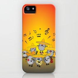 mariachi hedgehogs iPhone Case
