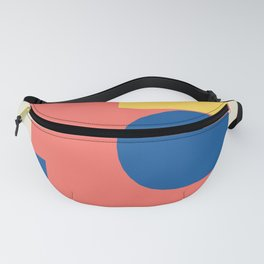 Spring Modern Geometric Abstract Fanny Pack