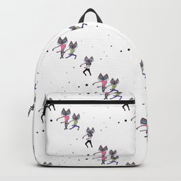 Dance Dance Dance Cat Backpack