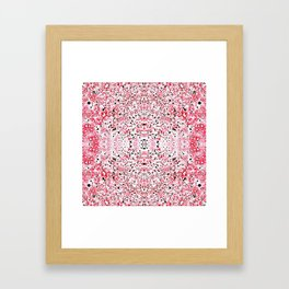 Firecracker Framed Art Print