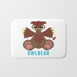 Owlbear Bath Mat