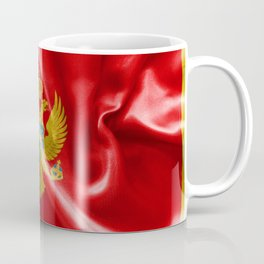 Montenegro Flag Coffee Mug