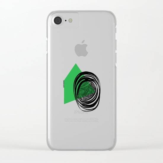 - plan b - Clear iPhone Case