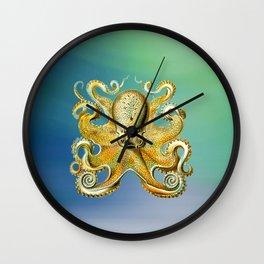 Deep in the Ocean Waters Wall Clock
