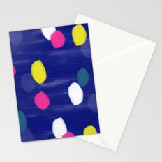Spotty Blue Stationery Cards