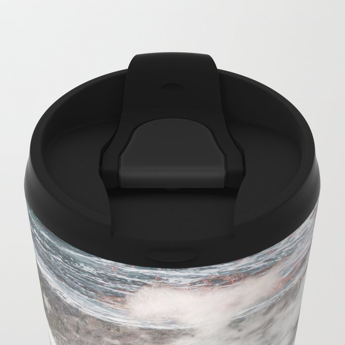 Crashing Clouds Metal Travel Mug