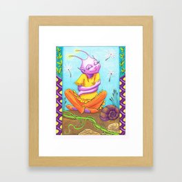 The Hug Framed Art Print