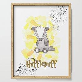Hufflepuff - H a r r y P o t t e r inspired Serving Tray