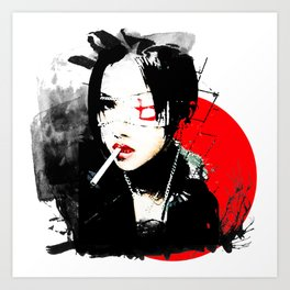 Shiina Ringo - Japanese singer Art Print