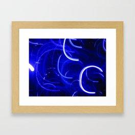 Study in Blue II Framed Art Print