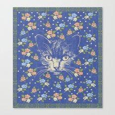 Victorian Cat 1 Canvas Print
