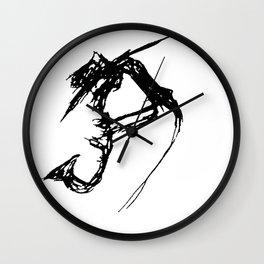 Juju Sax Man Wall Clock