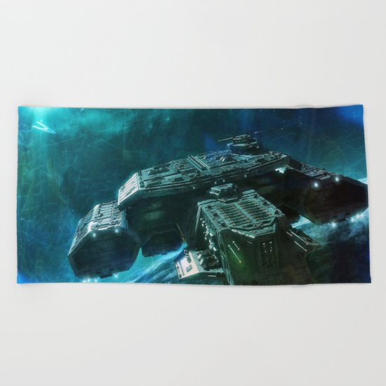 Journey home Beach Towel