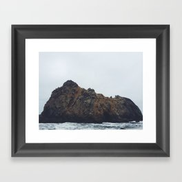 Pfeiffer Beach Framed Art Print