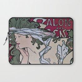 March April 1896 20th Salon des 100 Art Expo Paris France Laptop Sleeve