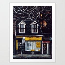 Pawn Shop Art Print