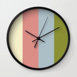 Color Ensemble No. 7 Wall Clock