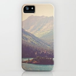 Retro Glacier iPhone Case