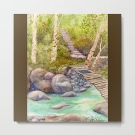 A Bridge to Morocco WC20150712a Metal Print