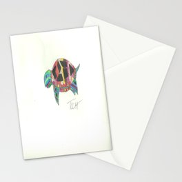 Mosaic Turtle Stationery Cards