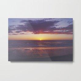oregon coast sunset Metal Print