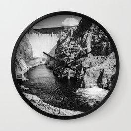 Ansel Adams - Hoover Dam Wall Clock