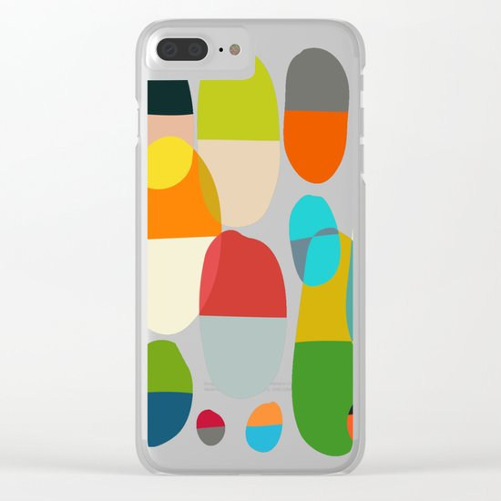Jagged little pills Clear iPhone Case